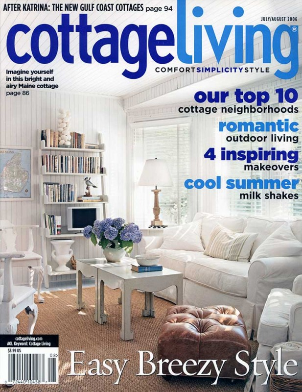 Featured in cottage living magazine michael k bell Home and cottage magazine