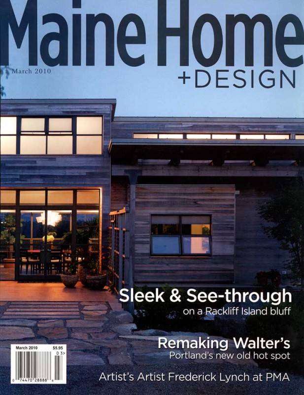 Home Design Magazine featured in maine home + design magazine - michael k bell interior